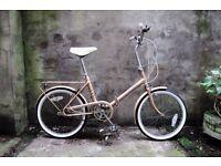 HERCULES COMPACT, vintage shopper folding bike, 3 speed