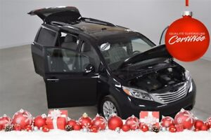 2017 Toyota Sienna Limited 4WD GPS+DVD+Cuir+Toit Panoramique