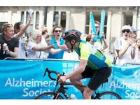 Event Volunteer with the Alzheimer's Society, RideLondon 29 July 2018