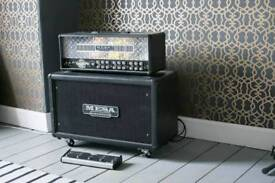 Mesa boogie dual rectifier with matching 2x12 cab