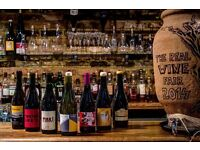 Experienced waiter/waitress for Natural wine and Fantastic food restaurant in central London