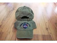 Green NASA space Baseball Cap