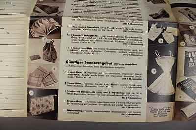 Counselor Faltprospekt/Catalog - Oct.1959 - Premiums For Abonnentenwerbung /154