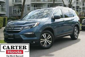 2016 Honda Pilot EX-L + AWD + LEATHER + ACCIDENT FREE + CERTIFIE