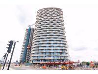 Modern Studio Flat in Royal Docks, Hoola Building, Available Now, Concierge, Gym, Amazing Views- VZ