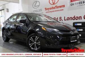 2017 Toyota Corolla LE UPGRADE MOONROOF ALLOYS SAFETY SENSE P