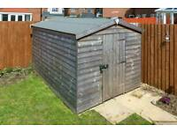 As new 10ft × 7ft garden shed