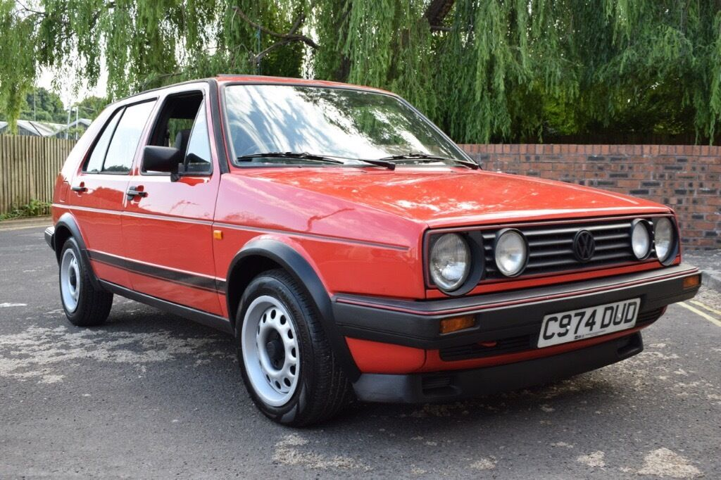 Vw Golf Mk2 Gti 1985 1 8 8v 5dr Red Type 19 Early Model