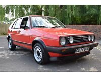 VW GOLF MK2 GTI 1985 1.8 8V 5DR RED TYPE 19 EARLY MODEL