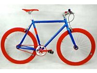 Brand new NOLOGO Aluminium single speed fixed gear fixie bike/ road bike/ bicycles cccv