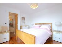 A recently refurbished and stylishly furnished double bedroom.