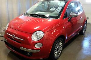 FIAT 500 Lounge 2014 BLUETOOTH + USB + MAGS + CUIR