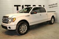 2010 Ford F-150 Platinum| Auto| Leather| Sunroof| 65,000kms