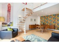 EMPIRE SQUARE, HOLLOWAY ROAD N7: 3 DOUBLE BEDROOM FLAT TO RENT / ROOF TERRACE / THREE BATHROOMS