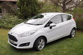 Ford Fiesta Zetec 1.25 White - Low Mileage - 18 months remaining on warranty