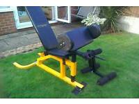 Body weights bench