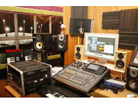 RECORDING STUDIO, BIG STUDIO SPACE FOR MUSIC VIDEO, FILMING & REHEARSAL ROOM £40 AN HOUR
