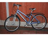Girls 26 inch bike in fair condition for its age works well more the 5 gears