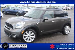 2012 MINI Cooper S Countryman S/AWD/CUIR/GPS/TOIT PANORAMIQUE