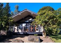 5* luxury lodge to rent w/b 20/8/17, 1 bedroom, sleeps 4, on Loch Lomond, includes leisure centre