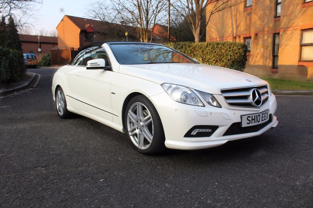 2010 mercedes e350 convertible coupe white in canary for Mercedes benz e350 coupe convertible