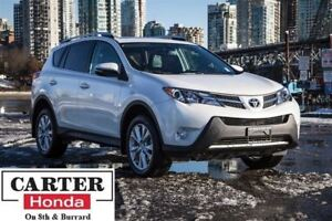 2013 Toyota RAV4 Limited + NAVI + LOCAL + NO ACCIDENTS!