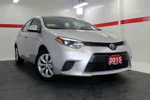 2015 Toyota Corolla LE BACKUP CAMERA TOYOTA CERTIFIED