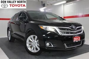 2013 Toyota Venza TOURING PKG AWD Sunroof Nav Btooth Heated Lthe