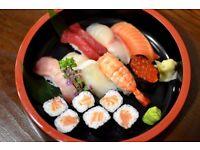 Experienced Floor Staff wanted for Sushi Bar Atariya Swiss Cottage