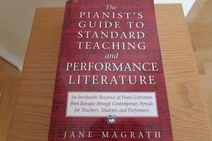 The Pianist's Guide to Standard Teaching and Performance Lit