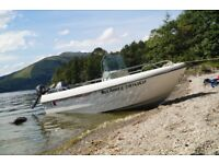 Terhi Vario 4.5 Sportboat, Yamaha 30 hp four stroke and 2.5 four stroke For Sale