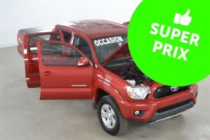 2013 Toyota Tacoma 4x4 V6 TRD Sport Cuir+Toile+Skid Plate