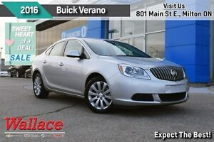 2016 Buick Verano CONVENIENCE/ACCIDENT-FREE/1-OWNER/REAR CAM/RMT
