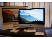 "Apple iMac 27"" Desktop with Retina 5K Display, 3.3GHz, 2TB Fusion, (Late 2015), Cost £2249 in Apple"