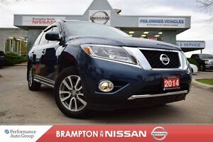 2014 Nissan Pathfinder SL *Leather,heated seats,Rear view monito