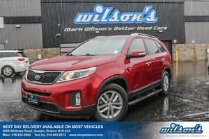2014 Kia Sorento LX! 1 OWNER! HEATED SEATS! BLUETOOTH! POWER PKG