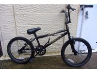 bike bmx X rated exile II - 20inch wheels excellent condition