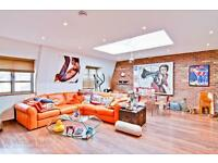 Stunning 3 Bed 3 Bath Penthouse in Camden Town available now