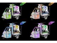 Piaggio Ape - Mobile Bar for Hire, London & Essex