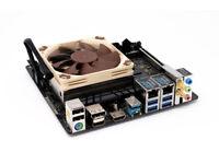 ASRock Intel Z390M ITX/ac Mini-ITX Motherboard with Noctua Cooler