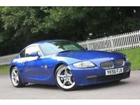 BMW Z4 3.0 Z4 SI SPORT COUPE 2d 262 BHP RAC WARRANTY + BREAKDOWN COVER!! (blue) 2007