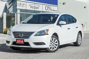 2014 Nissan Sentra 1.8 S CVT Bluetooth,Heated seats