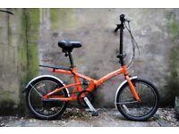 SHERWOOD CLASSIC. Alloy shopper folding foldable bike, 3 speed