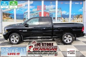 2013 Ram 1500 Sport, No-Accidents, One-Owner!  MINT!!!