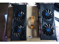2 x AMD Radeon HD6950 Graphics Cards