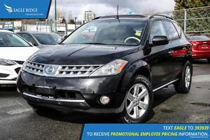 2006 Nissan Murano SL Heated Seats and Backup Camera