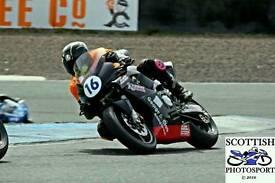 Cbr 600 race/track bike