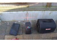 Makita SK 102 Crossline Self-Levelling & Aligning Laser, Carry Bag Batteries SOLD FOR NURSES CHARITY