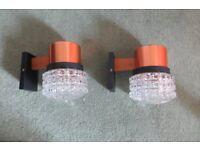 Pair wall lights