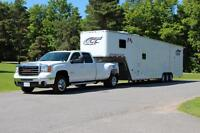 42' Aluminum ATC trailer with living quarters